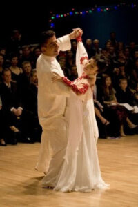Gilles Bettner and Irene Lau