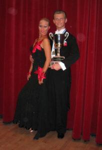 Under 21 Open Grand Ball 2005 Winners Vadim Garbuzov and Kathrin Menzinger