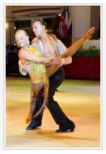 Marco Cuocci and Nadiya Dyatlova World Cup 10 Dance 2007 Finalists