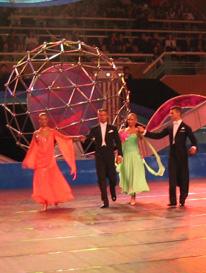 Austrian Team in Shanghai IDSF World Youth Standard 2004