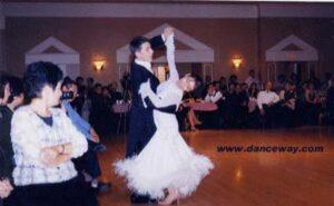 Yaroslav Yasel - Sarah Liang URSKA OPEN 2001 Junior Semi-finalists